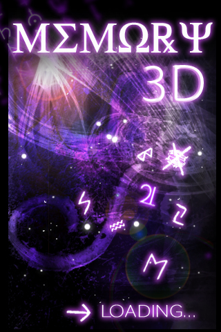 Screenshot Memory 3D